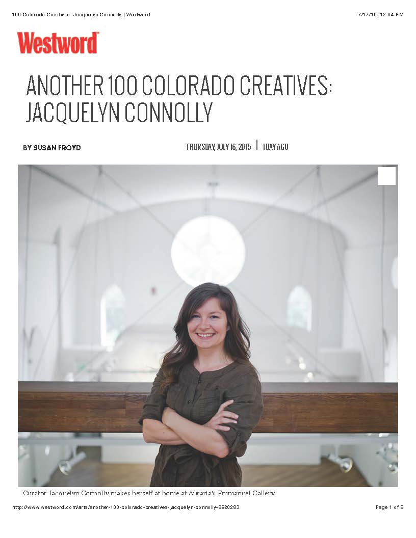 100 Colorado Creatives- Jacquelyn Connolly | Westword_Page_1
