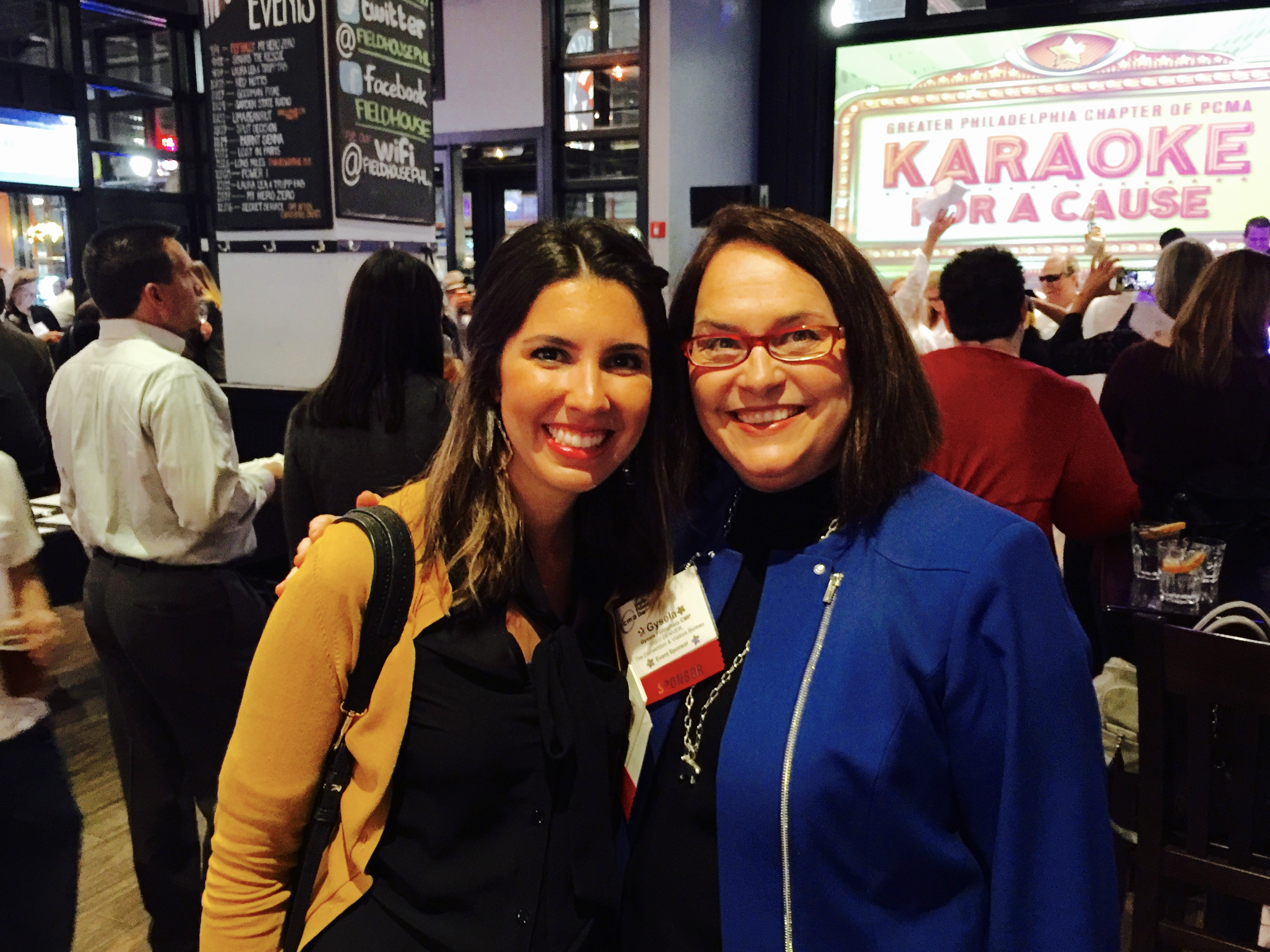 Amanda Rodriguez and Gysela Fillingham of VISIT DENVER