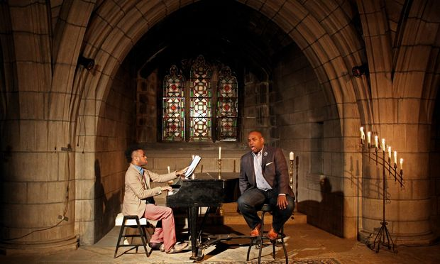 Lawrence Brownlee and Damien Sneed perform at The Crypt Sessions (Andrew Ousley)