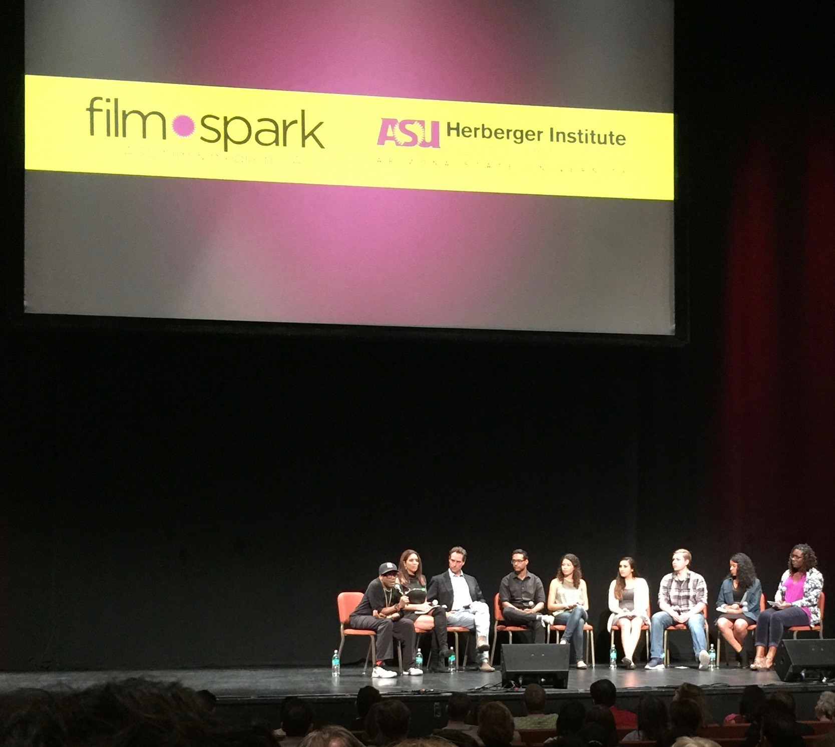 Spike Lee and ASU Film students