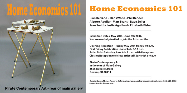 Home Economics 101 Curated by Laura Phelps Rogers promo banner