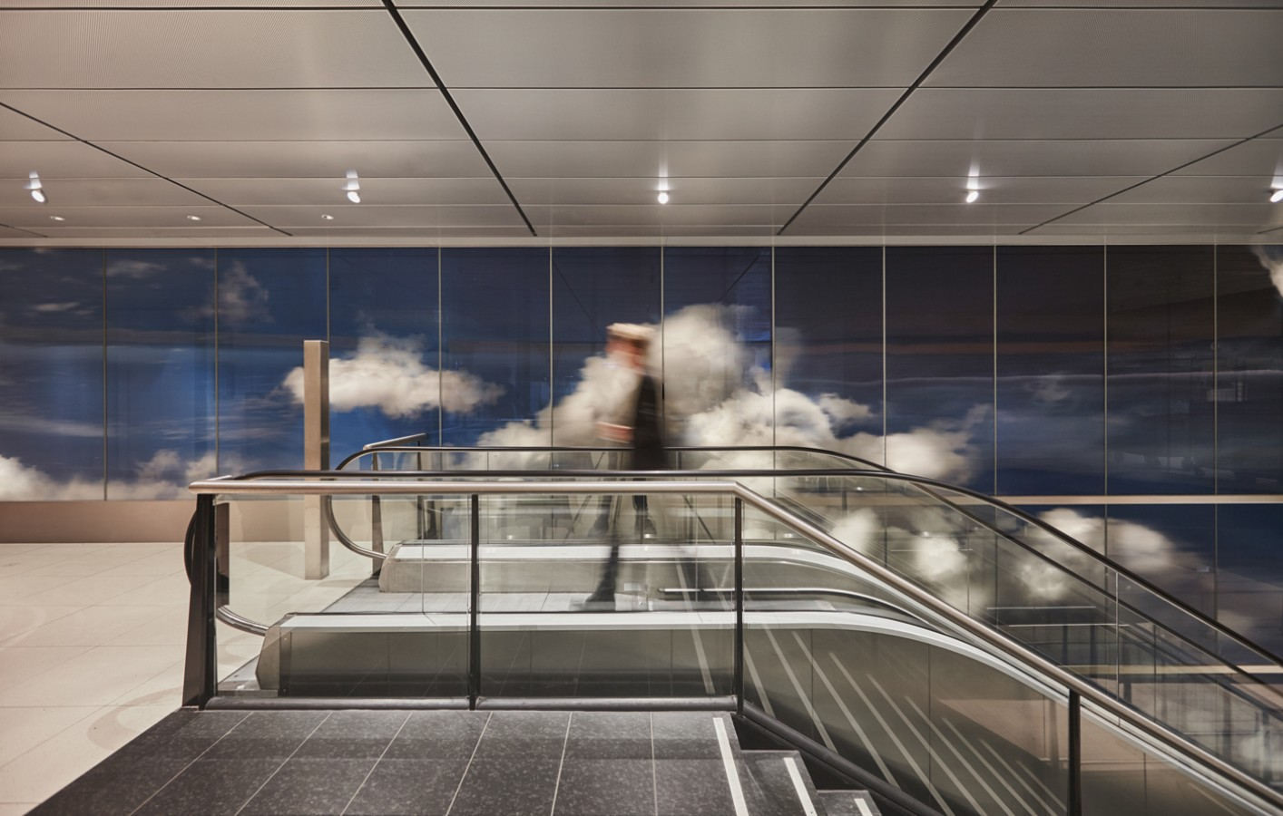 Click on the link above this photo.   BEYOND is made of 3D clouds and Dutch light which give new dimensions to Schiphol Airport. + MORE