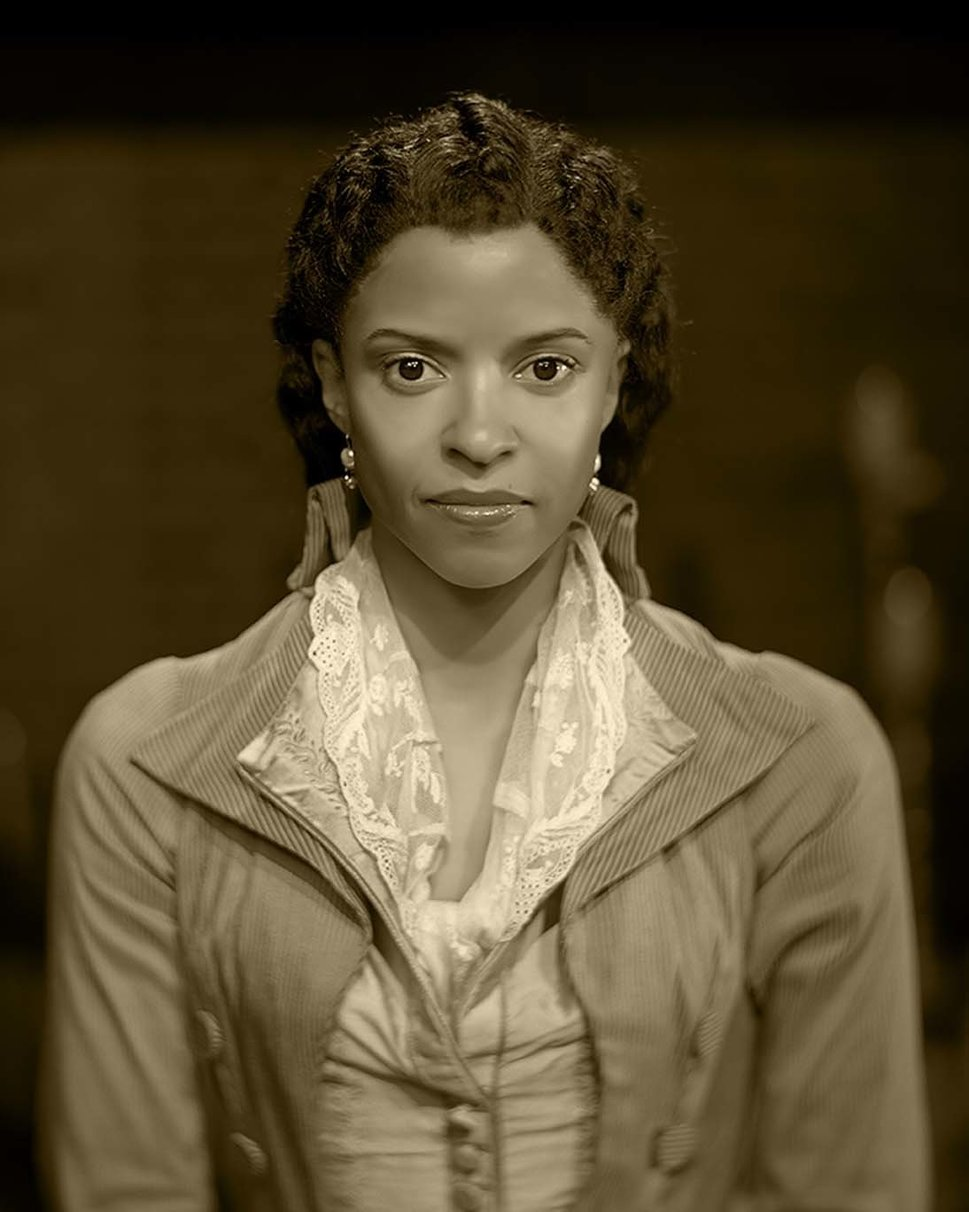 JOSH LEHRER Renée Elise Goldsberry as Angelica Schuyler.