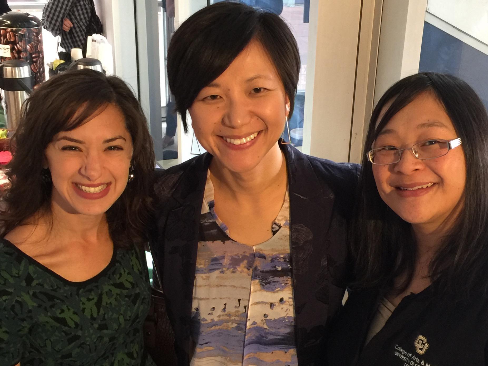 Marianna DiVietro, Yang Wang and Tanida Ruampant